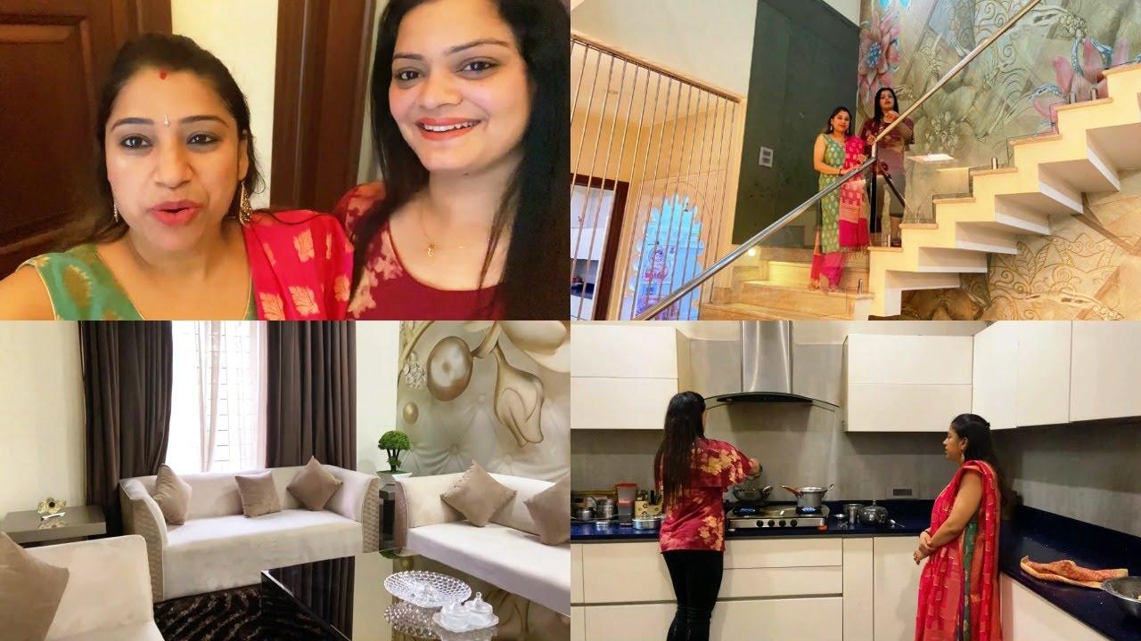 💁♀️मेरी छोटी ननद के घर 🏘का Tour | Home Tour / Home Decor & Organization Idea 💃🏘 | Indian Mom Studio