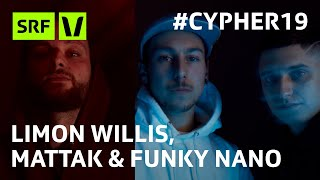 #Cypher19 Limon Willis, Mattak & Funky Nano am Virus Bounce Cypher 2019