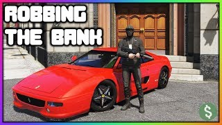 GTA 5 Roleplay - Robbing Two Banks Back To Back   RedlineRP