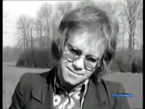 ♫ Elton John ♪ Your Song (Original Clip) ♫ Video & Audio Restored