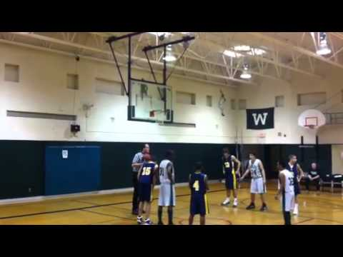 Wolfe Middle School 8th Grade Boys Basketball - YouTube