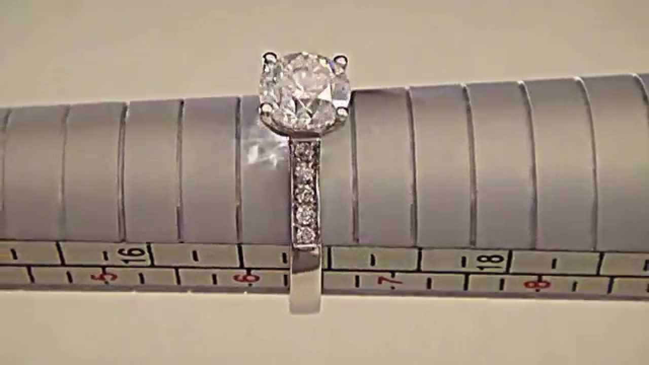 Помолвочное кольцо с муассанитом 0,6 карата (искусственный аналог .
