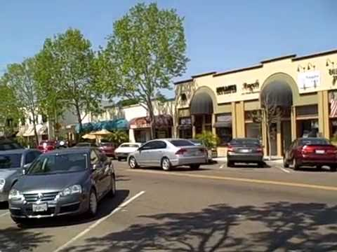 A Video Tour of Carlsbad Village in Carlsbad California