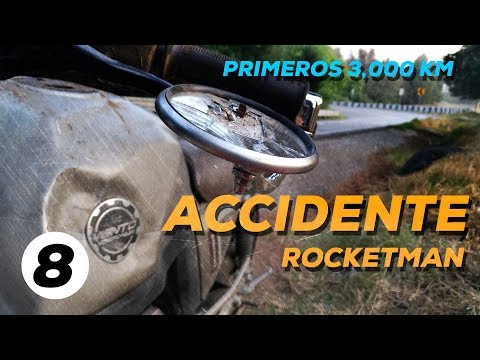 ME ACCIDENTÉ CON MI ROCKETMAN250 EN CARRETERA / PRIMEROS 3000 KM
