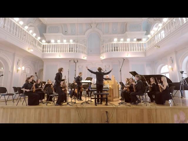 Й. Гайдн. Концерт для клавира, скрипки и струнных фа мажор (Hob.XVIII:6). Часть 3. Allegro