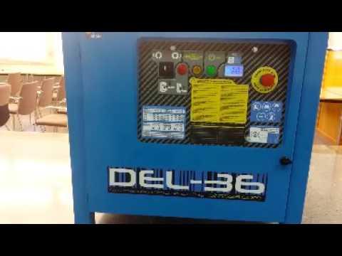 Instalacja giętarki elektrycznej SIMA DEL 36