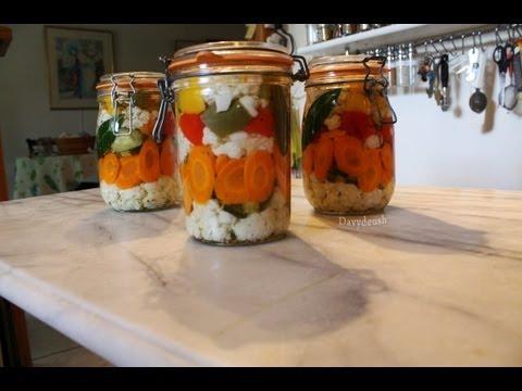 Légumes en bocaux par Mamy Monica