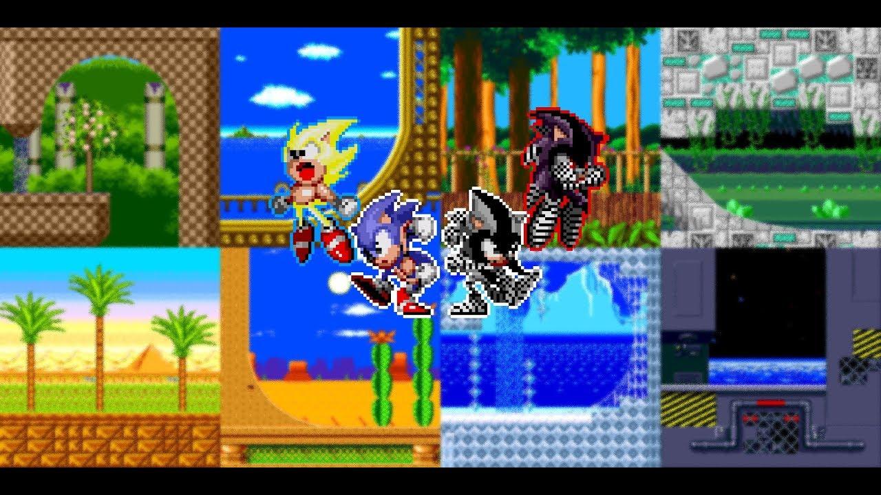Sonic & Ashuro - Longplay + Download 4 06 [UPDATED]