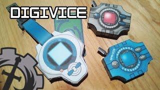 Como hacer un  ... Digivice gen1 y gen3 papercraft