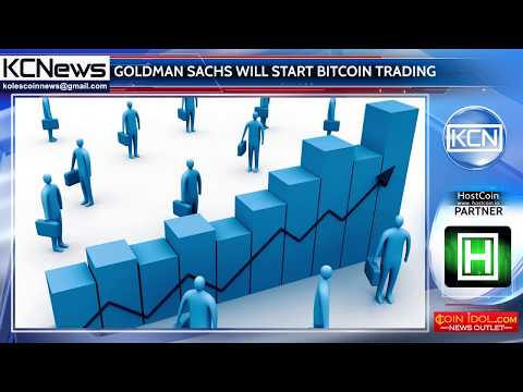 Goldman Sachs will turn Wall Street into a bitcoin trading market
