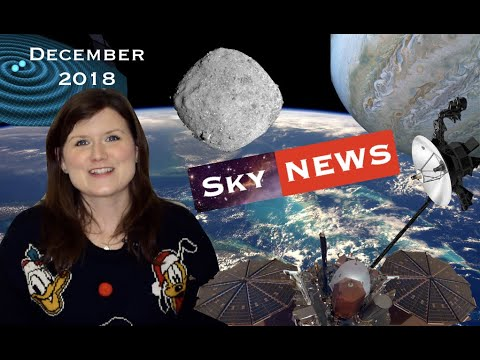 Night Sky News December 2018 | FOUR new Black Hole mergers and Voyager 2 in Interstellar Space