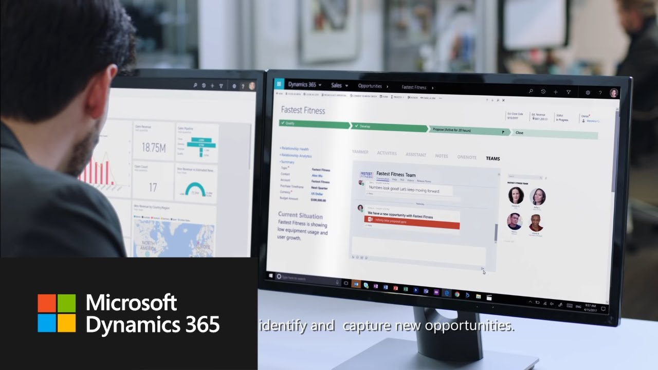 Microsoft Dynamics 365 - Intelligent business applications