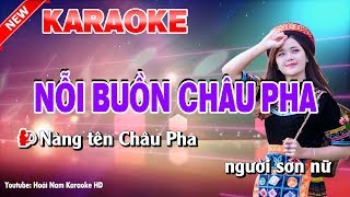 Karaoke Nỗi Buồn Châu Pha - noi buon chau pha karaoke nhac song
