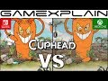 Cuphead Graphics Comparison (Nintendo Switch vs. Xbox One)
