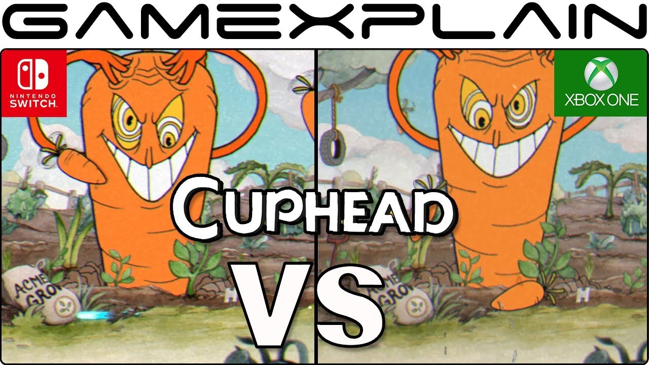 Video: Cuphead Switch vs  Xbox One comparison - Nintendo Everything