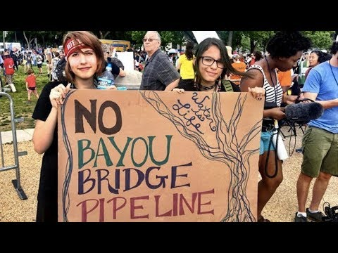 Louisiana Bill Aims To Hypercriminalize Pipeline Protests (1/2)