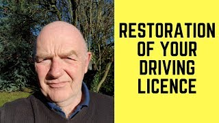Restoration of Your Driving Licence in Ireland