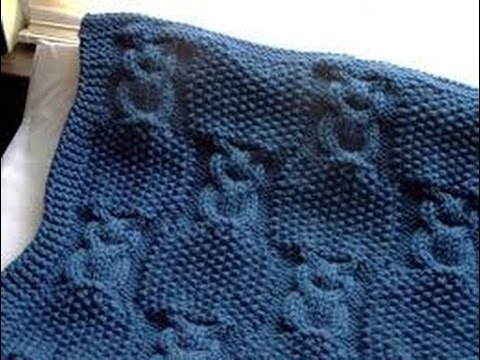 Easy Short Time Knitting Baby Blankets Youtube