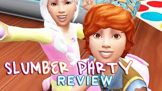 Let's Review: The Sims 4 | Slumber Party Mod