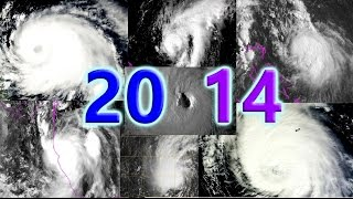 2014 Atlantic Hurricane Season Animation (Preliminary)