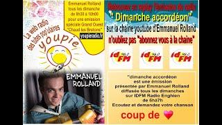 Replay des emissions de radio du 11.10.2020 présenté par Emmanuel Rolland