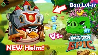 Angry Birds Epic: Gameplay Red New Helm! (Elite Guardian) Vs. The World Boss Level 17 Dangers
