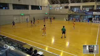 2019年IH ハンドボール 女子 2回戦 洛北(京都)VS 日川(山梨)