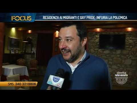 FOCUS - RESIDENZA AI MIGRANTI E GAY PRIDE: INFURIA...