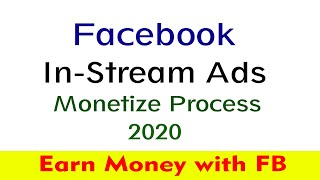 In-Stream Ads Approved Process after Brands Collabs Manager | Facebook Page Monetization 2020