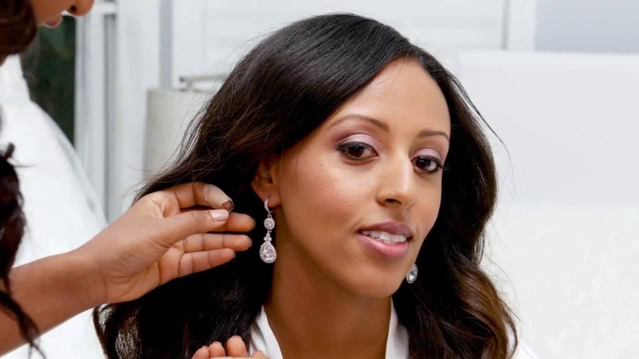 An Amazing Wedding Ethiopian Wedding In Los Angeles YouTube - Ethiopian brides hairstyle