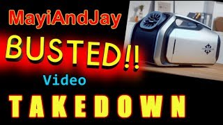 MayiandJay file bogus takedown against BUSTED video!