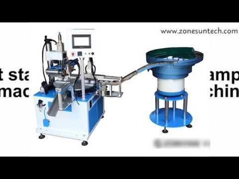 ZONESUN customized automatic stamping machine on factory