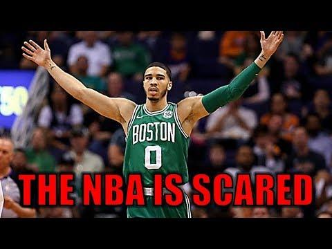 Why the NBA is SCARED of Jayson Tatum!   Future NBA LEGEND!