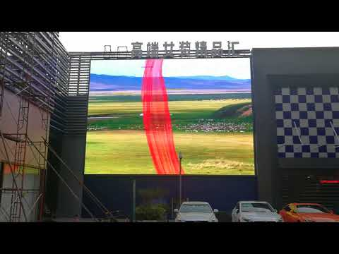 Outdoor led video screen P10 outdoor HD led display panel