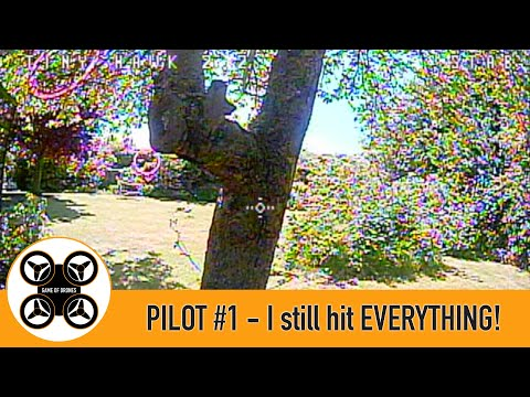 Фото Game of Drones - Pilot #1 Getting better, but I still hit EVERYTHING!