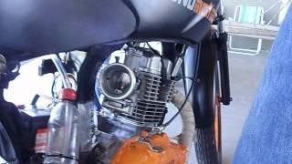 arrancada moto santa cruz 8.04.2012 Marcio 150 (severino)