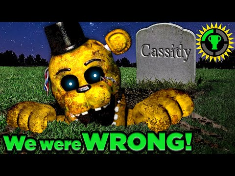 Game Theory: FNAF, Golden Freddy… NOT What We Thought!