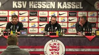 löwen.tv • Pressekonferenz  KSV Hessen - TSG Hoffenheim II - 07.03.2018