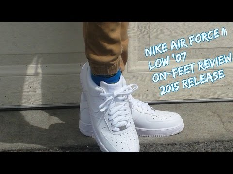 All Force Low White' 07 Nike 1 Air Reviewheyozzy On Feet mv8Nn0w