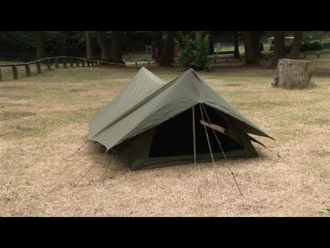 How To Set Up An A Frame Tent Youtube