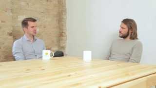 mymuesli Gründer Hubertus Bessau im Interview mit Marco Alberti über OKRs