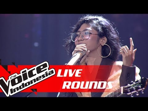 Jaqlien - Creep (Radiohead) | Live Rounds | The Voice Indonesia GTV 2019