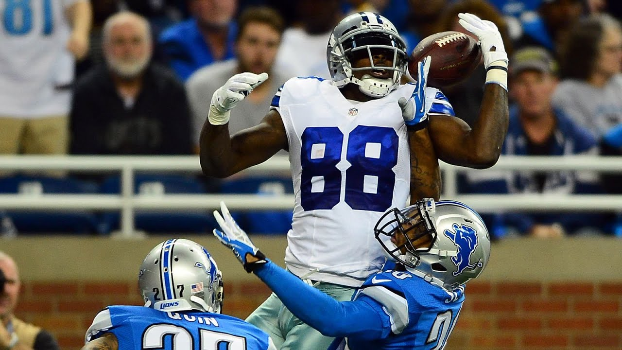 Dallas Cowboys Live Wallpaper Iphone Dez Bryant Throw Up The X Highlights Youtube