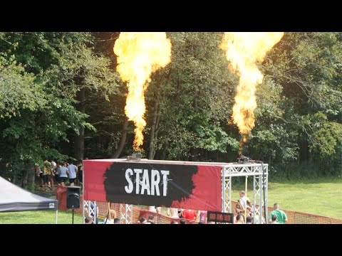 Warrior Dash 2014: Ohio II Run + Obstacles [HD 1080p]