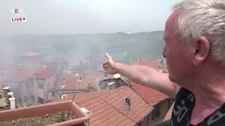 """Esplosione a Rocca di Papa, un testimone: """"Boato fort, feriti in strada: non si respirava per fumo"""""""