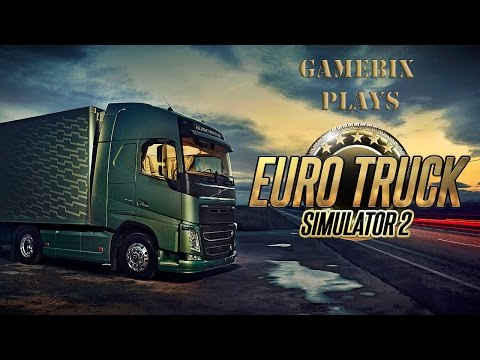 Euro Truck Simulator 2 (Cambridge - Paris)