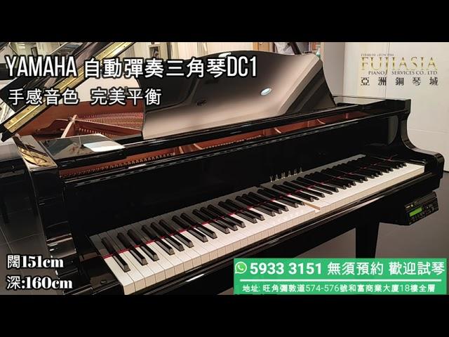 【自動演奏鋼琴】月租 YAMAHA Disklavier C1