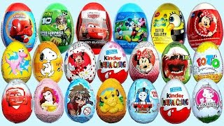 Kinder Joy Surprise Eggs Star Wars, Minions & More Kids Toys Collection | CDS Kids Tv