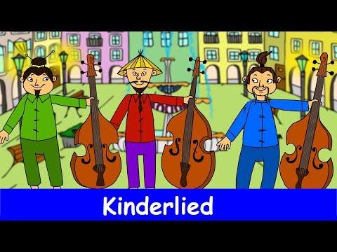 3 Chinesen mit dem Kontrabass - Kinderlied - Sing mit YleeKids