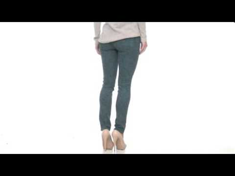 MiH Jeans Ellsworth High-Rise Skinny in Wild Rose Teal SKU:#8064411